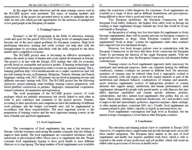 Articles in scientific journals